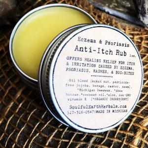 Eczema Anti-Itch Rub