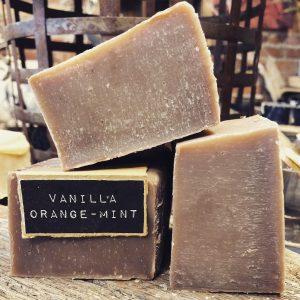 Vanilla Orange-Mint Handcrafted Natural Soap