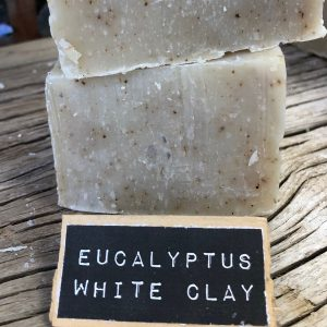 Eucalyptus White Clay Handcrafted Natural Soap