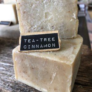 Tea-Tree Cinnamon Handcrafted Natural Soap