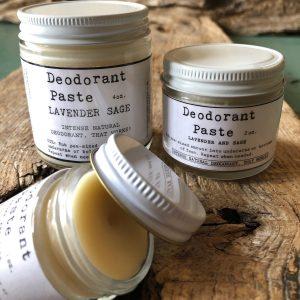 Deodorant Paste- Lavender & Sage