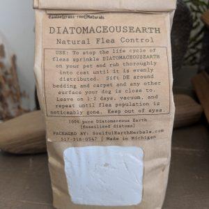 Diatomaceous Earth Natural Flea Control