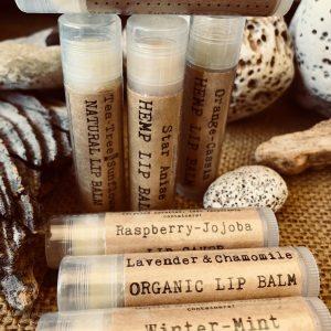 Bergamot Rosemary Organic Lip Balm