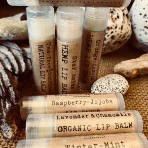 Lavender & Chamomile Organic Lip Balm