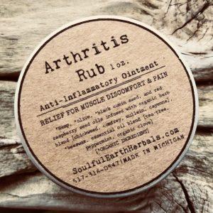 Arthritis Rub