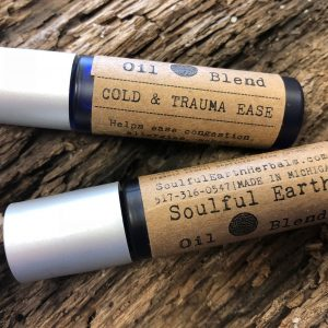 Cold and Trauma Ease – Soulful Earth Oil Blend