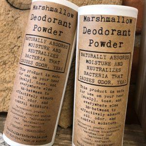Marshmallow Deodorant Powder