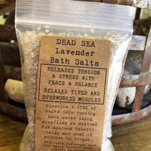 Dead Sea Lavender Salts