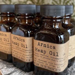 Arnica Hemp Oil