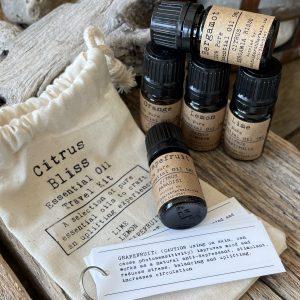 Essential Oil Travel Kit: Citrus Bliss